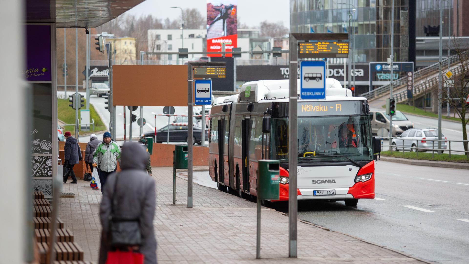 Bussisõitude arv vähenes 83 protsenti