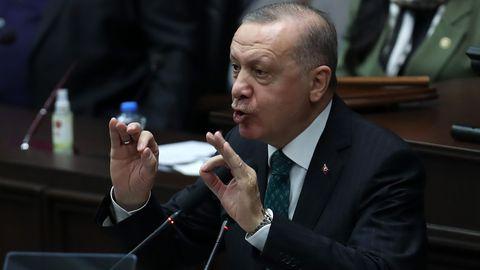 Erdoğan süüdistab USA-d terroristide toetamises Iraagis