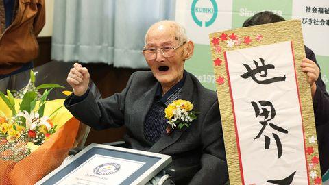 Maailma vanim mees Chitetsu Watanabe