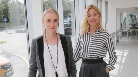 Tartu ülikooli kliinikumi patsientide nõukoja koordinaatorid Mari-Leen Pärn (vasakul) ja Jane Freimann ei kahtle, et patsientide arvamustest ja kogemustest võib haigla arengus kasu olla.