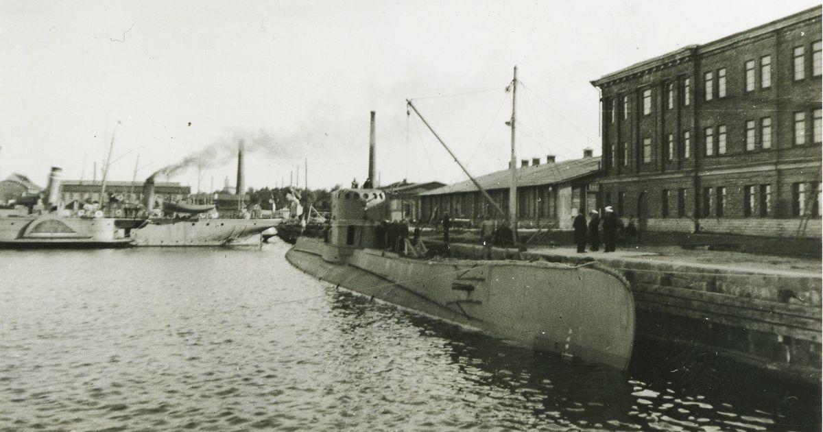 Täna ajaloos 18.09: Tallinna miinisadamast põgenes allveelaev