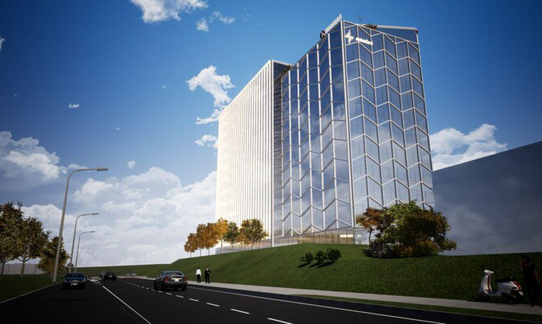 Nordecon ehitab Elektrilevi uuele peahoonele betoonkarkassi