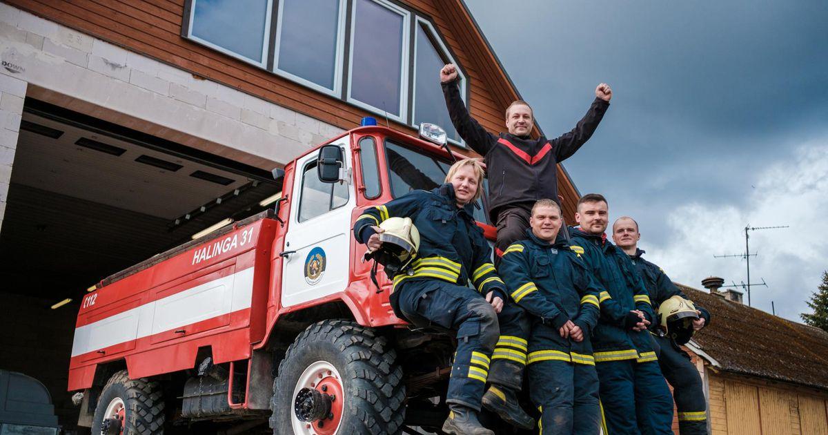 Vabatahtlikud päästjad tähistavad Pärnu-Jaagupis tuletõrje 100. aastapäeva