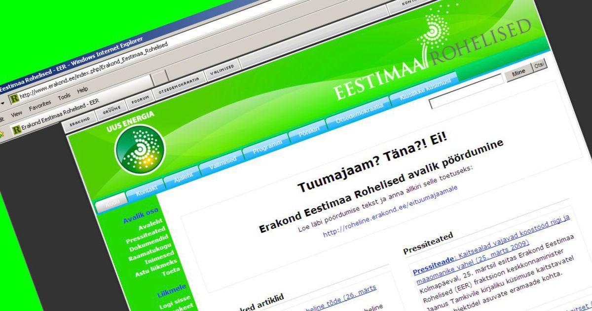ee949e5edbe Rohelised ja Rahvaliit arutasid koostööd - Eesti - Postimees: Värsked  uudised Eestist ja välismaalt