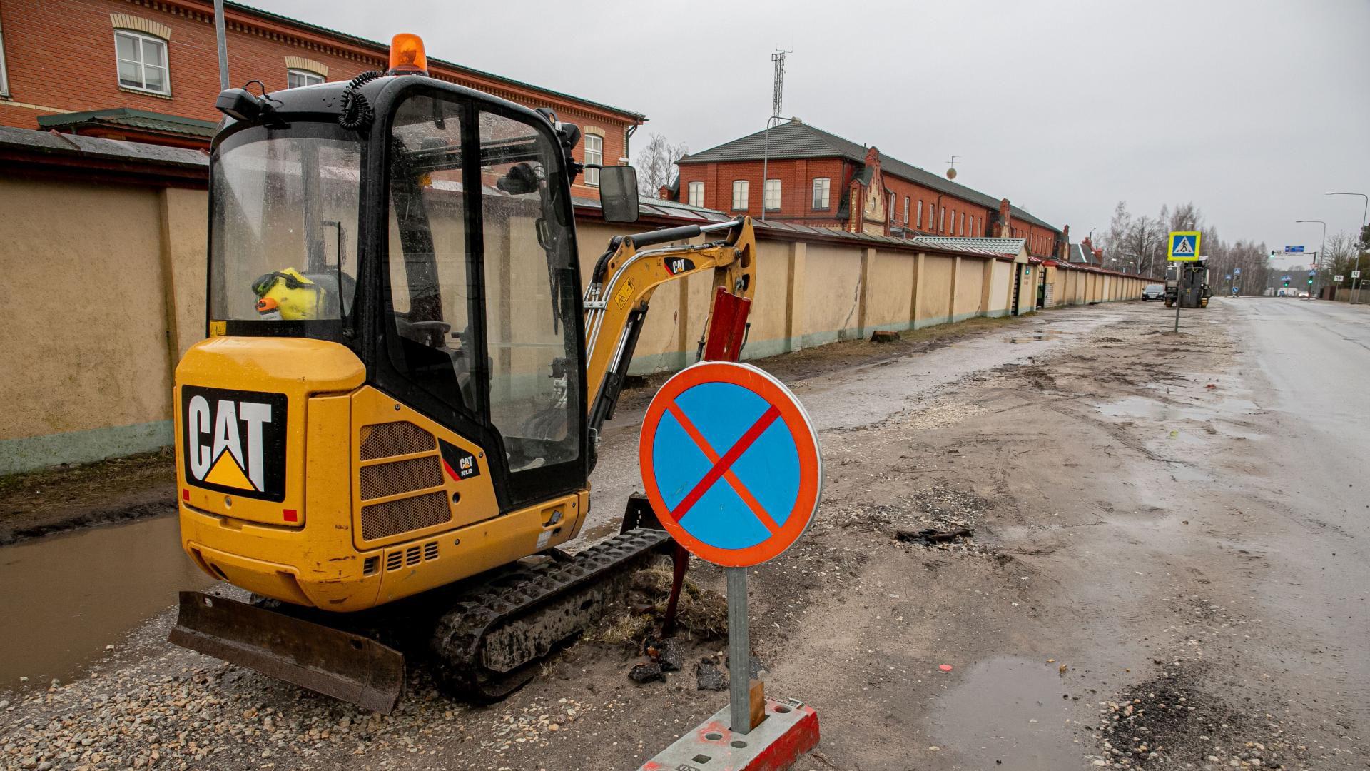 Tammsaare puiestee suletakse osaliselt liiklusele: