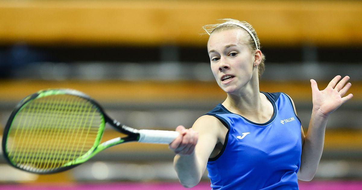 Eesti kolmas reket andis vastasele servidega turmtuld