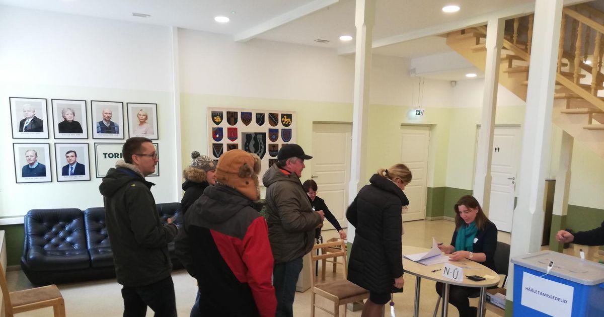 Tori teenuspunktis valimisjaoskonnas tihe pühapäev