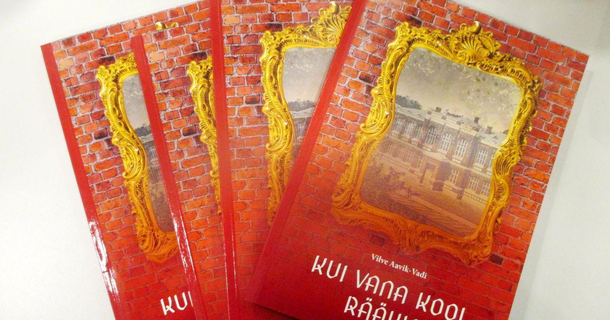 Punane koolimaja inspireeris vilistlast raamatut kirjutama