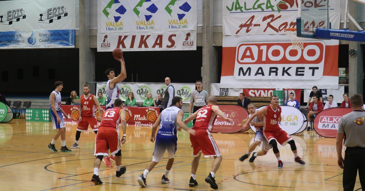 Valga-Valka korvpallimeeskond ei saa Eesti-Läti liiga mänguks võistkonda kokku