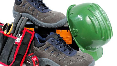 Turvajalanõud kaitsevad jalgu näiteks ehitusel.