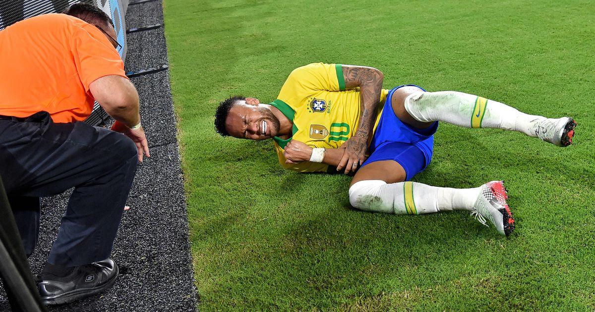 Brasiilia jalgpallistaar Neymar avalikustas, miks ta pidevalt teeskleb