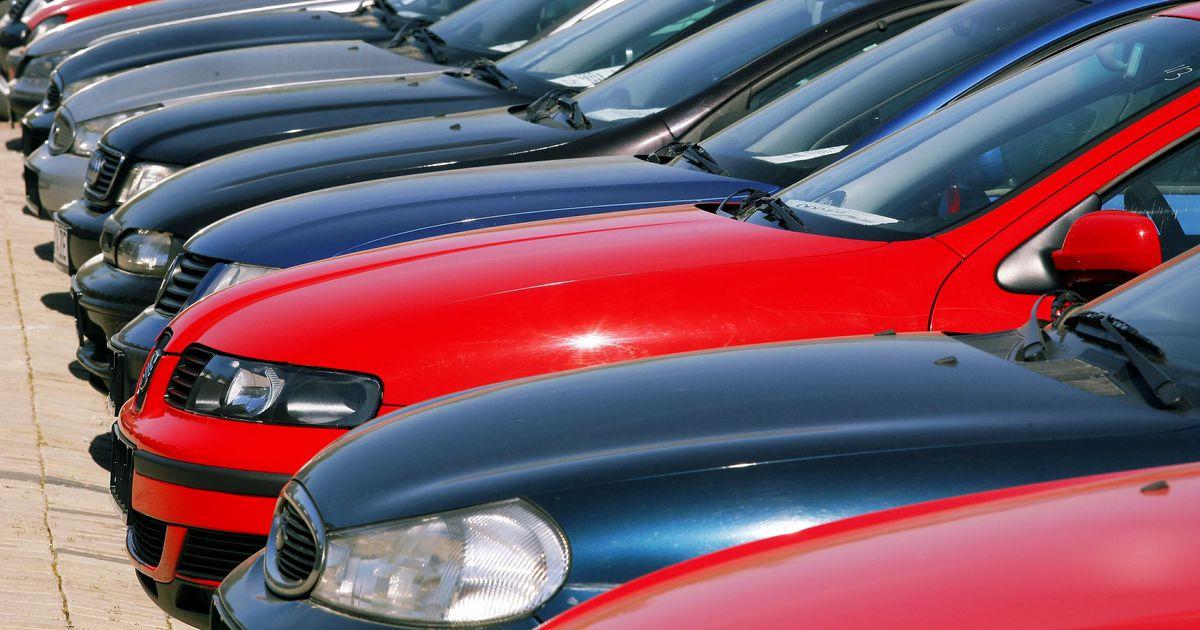 Automüüjate laovarud on oluliselt täienenud